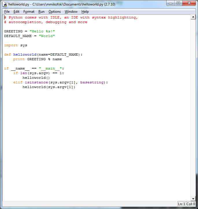 Python Bootstrap